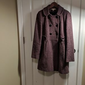 Twead Pink Wool coat